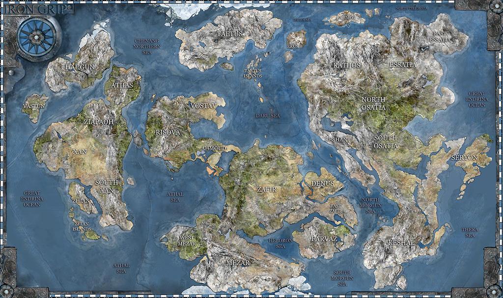 Fantasy World Map My Blog