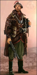 Captain Avitas by Iron-Grip
