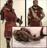 Atelian Civilians by Iron-Grip