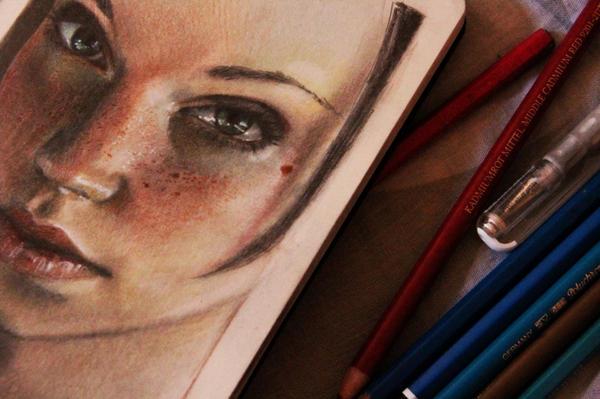 Emily Rosina 02 close up by Kaislea