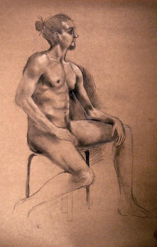 A black stool by Kaislea