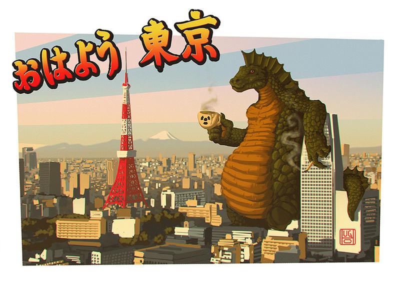 OHAYO TOKYO by zumbifedorento