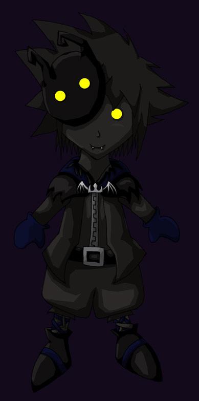 Halloween Anti-Sora by Okapi-chan