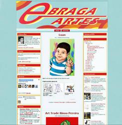 Template Blogger Ebraga Artes by ullissescastro