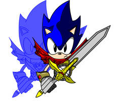 Sonic: Knight of the wind?