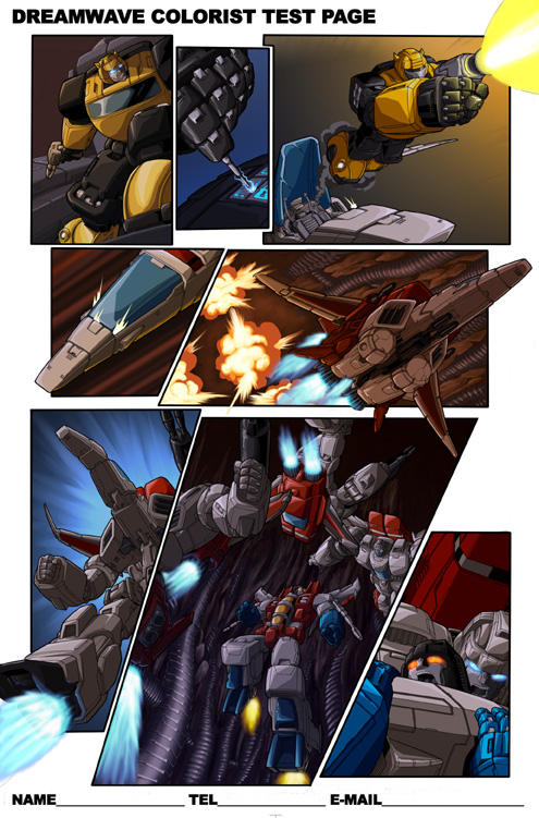 Dreamwave G1 Ongoing Test Page by 1DB