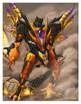 Galaxy Force Flame Convoy