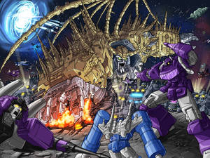 Unicron Attacks
