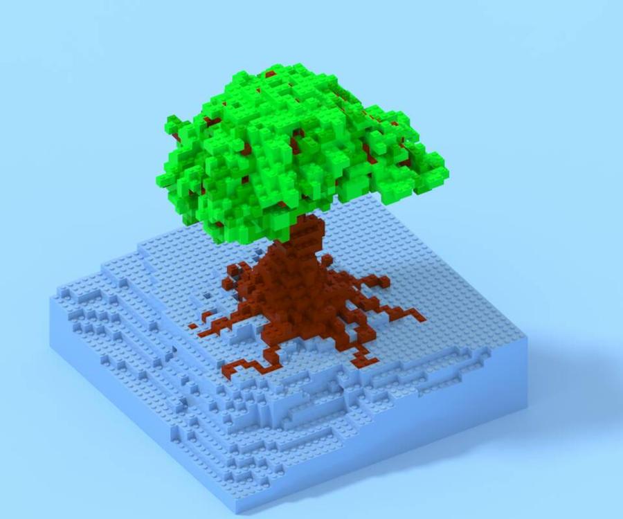 Tree WIP by Anrj