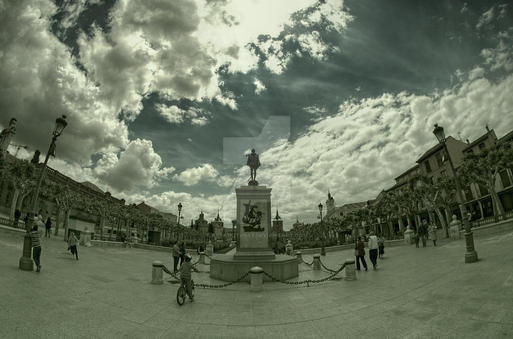 Cervantes Plaza by Astaroth667