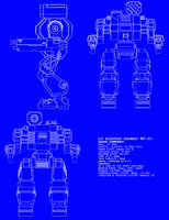Grand Summoner (Thor II) Blue Print by Stinger-Seven
