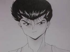 Yusuke Urameshi by CaptainUsoppSama