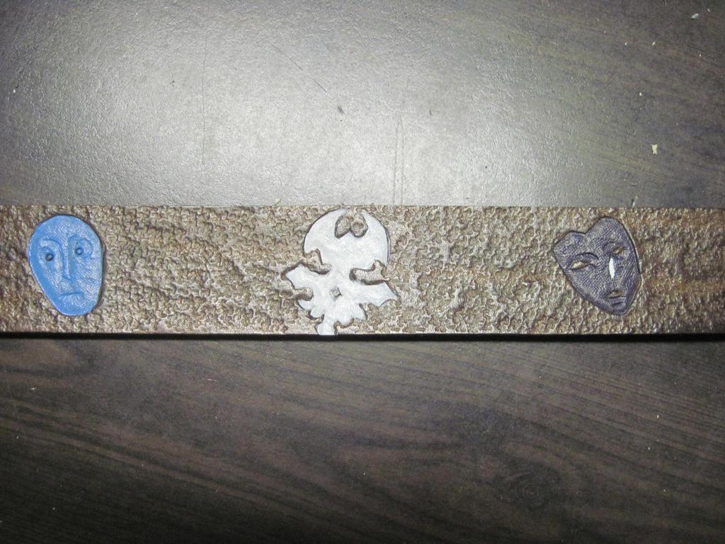 Leather Fandom Logo Belt 3 by marauderfaze
