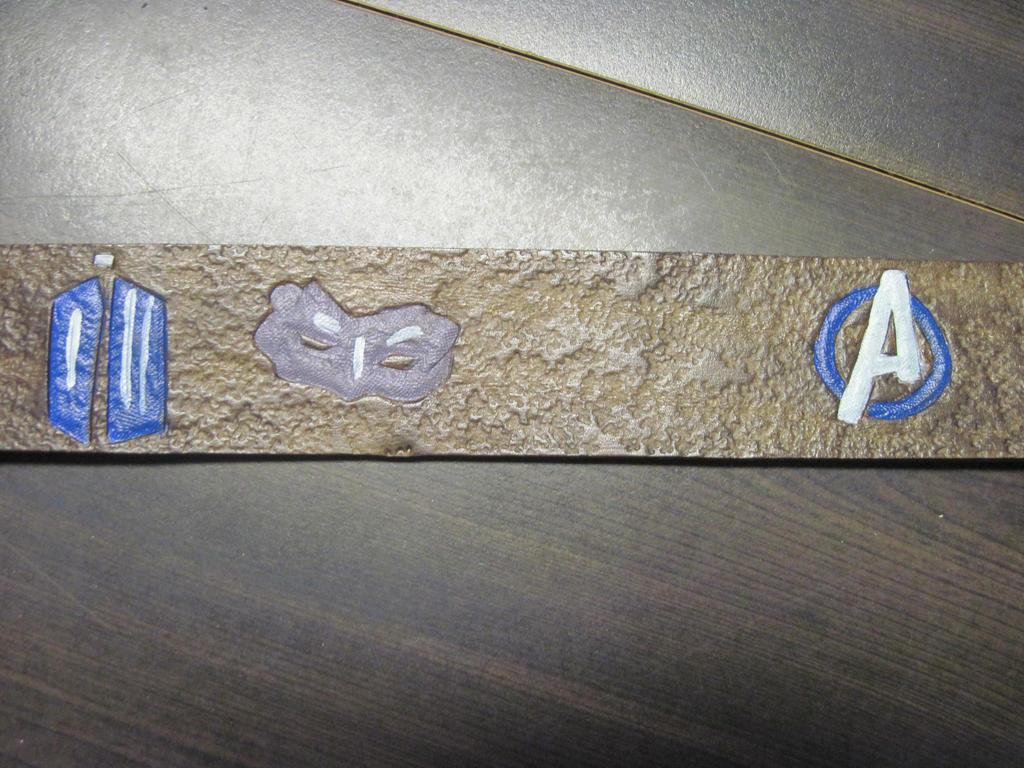 Leather Fandom Logo Belt 4 by marauderfaze