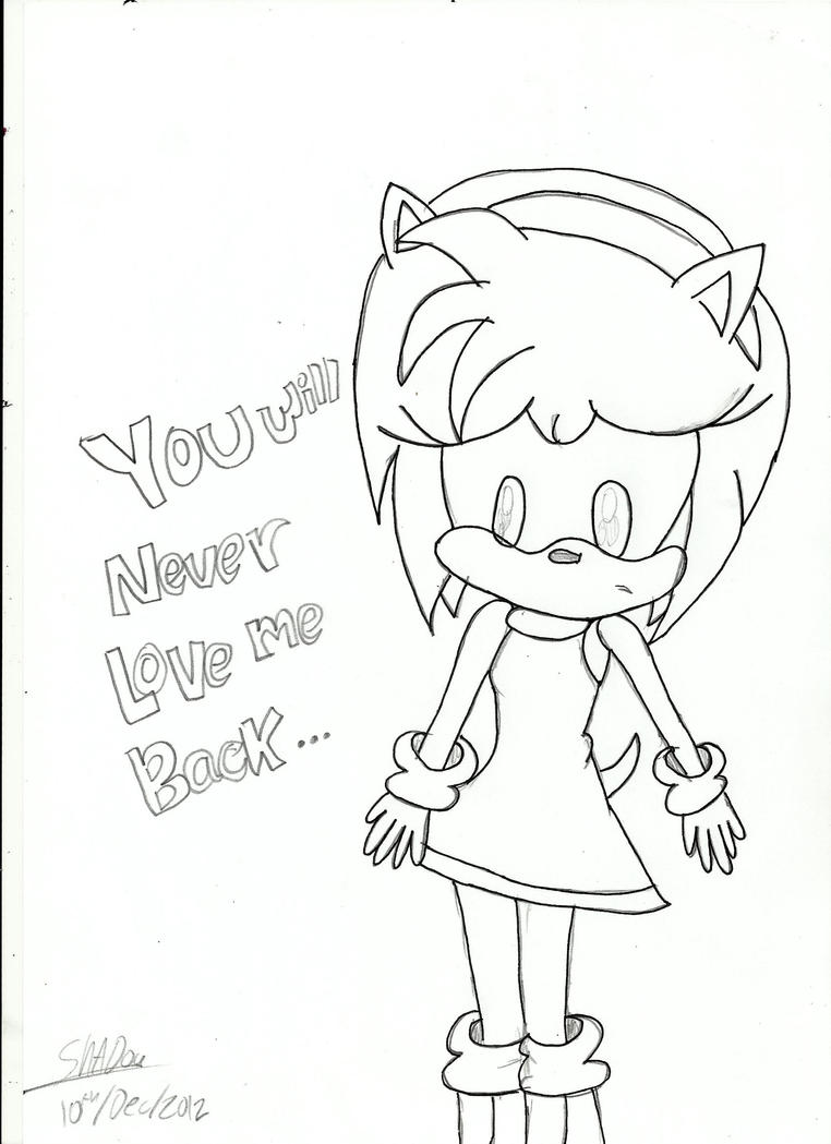 shadow and amy coloring pages - photo#15