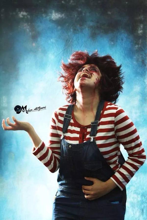 Chucky cosplay by ShadowsLilHoexx