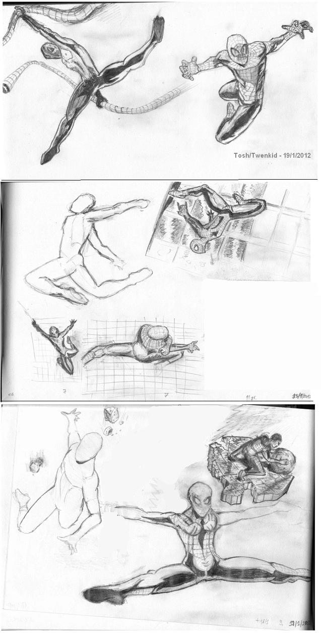 Spiderman - Body in Action by toshko