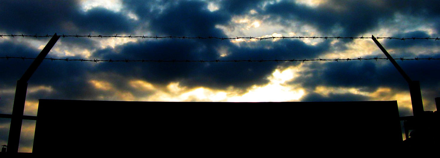 Sunset in the prison by toshko