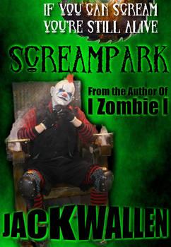 Cover for my novel Screampark