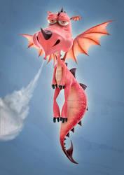 Sad Dragon by lobo1412