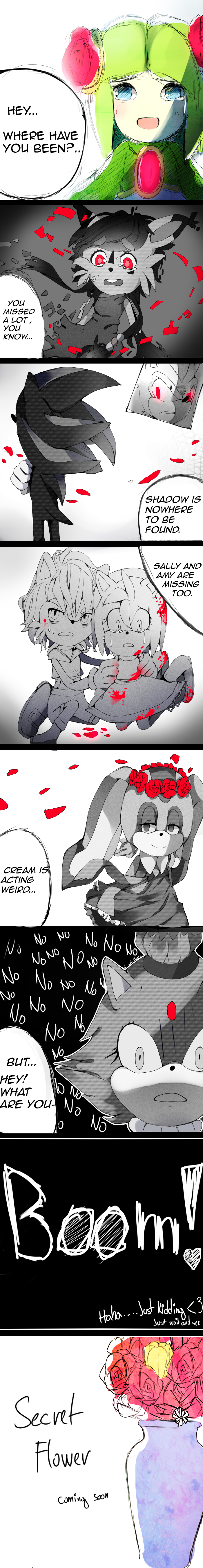 Secret Flower - manga preview by SugarCokkie
