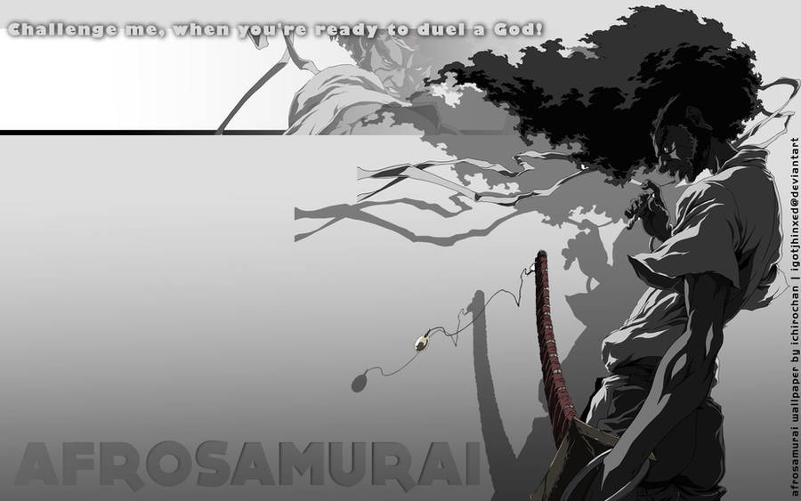 Another Afro Samurai Wallpaper By Igotjhinxed On Deviantart