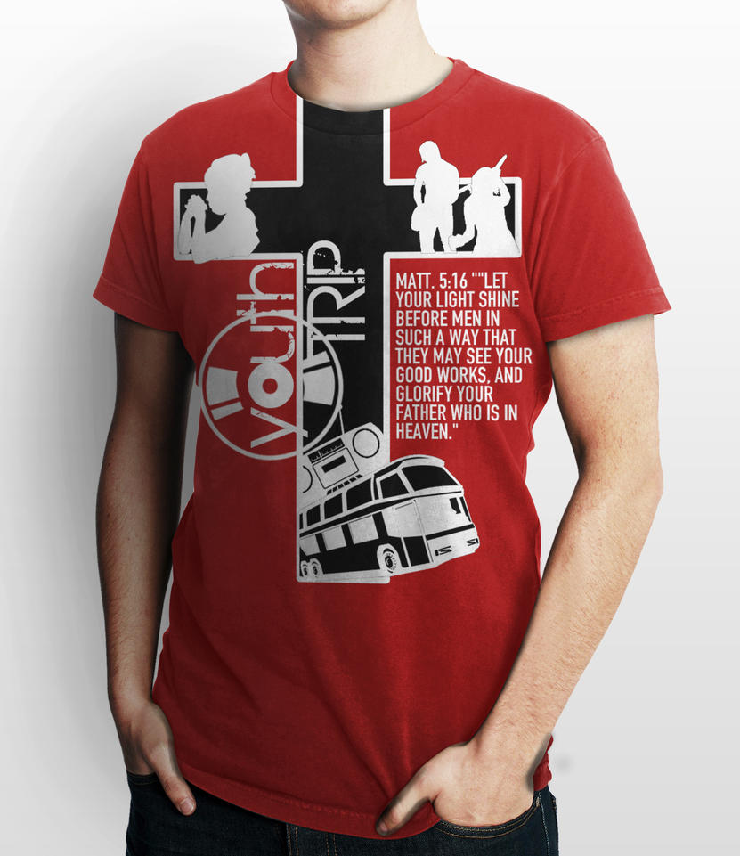 T shirt design youth - Youth Trip Shirt Design 1 By Igotjhinxed