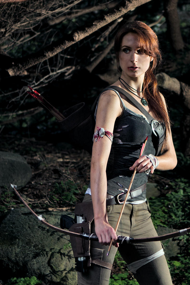Lara Croft 2013 by Lena-Lara