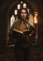 Triss Merigold by Lena-Lara