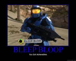 Bleep Bloop by Auron612