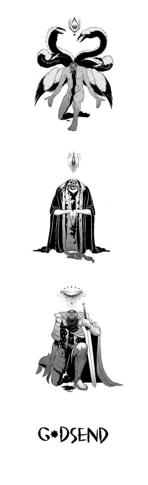 GODSEND KICKSTARTER by megrar