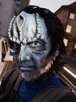cardassian starfleet officer closeup by Necr0w
