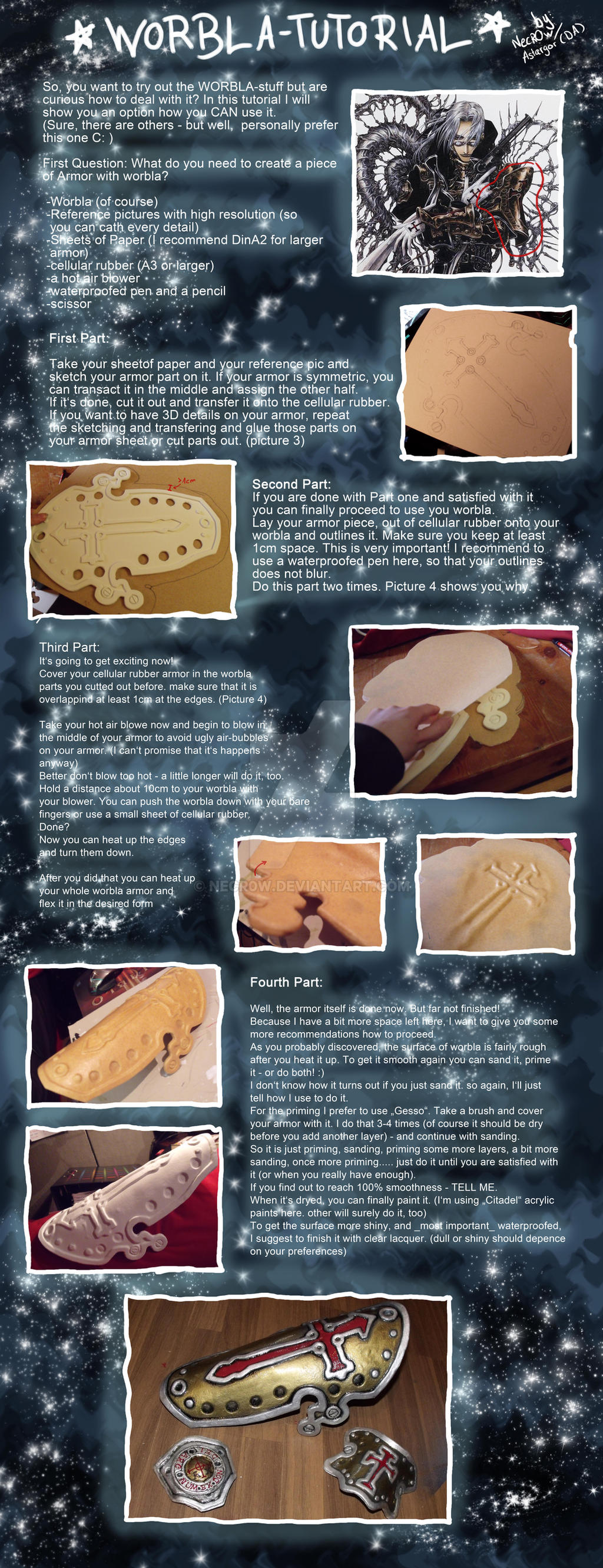 Worbla Armor Tutorial by Necr0w