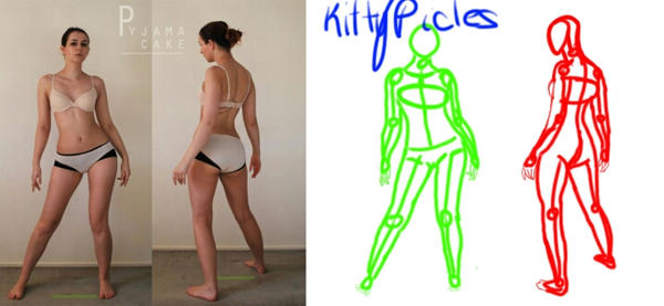 Character Design: Gesture Drawing by kittypicles221