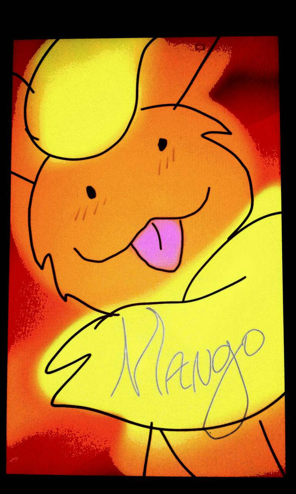 Mango that Flareon  by kittypicles221
