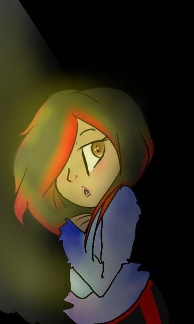 Brenna flames  my OC  by kittypicles221