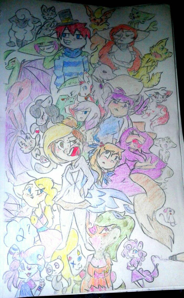 I finished it yay by kittypicles221