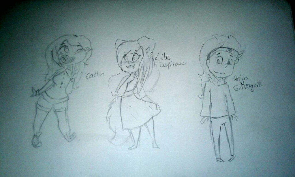 some character sketches#3  by kittypicles221