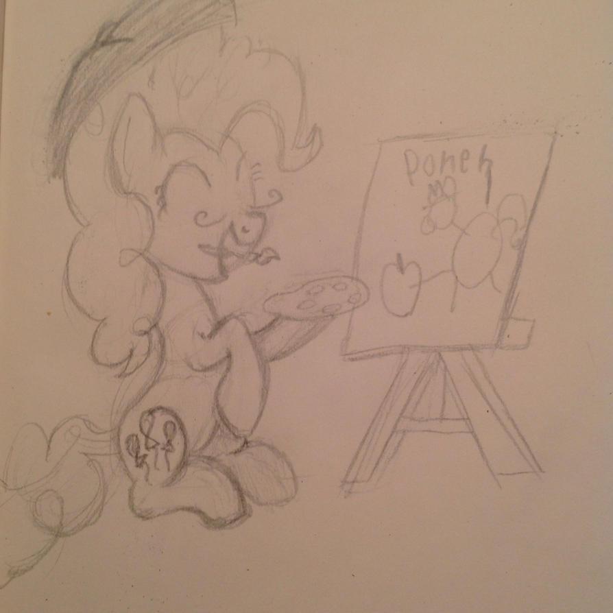 Pinkie artist by manfartwish