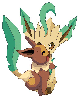 Soulsilver eevee x thistle 39 s leafeon 2 by stopnagginme on - Evolution pokemon argent ...