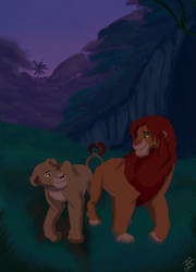 The Lion King - And If He Feels The Love Tonight.. by Genocide-Knight