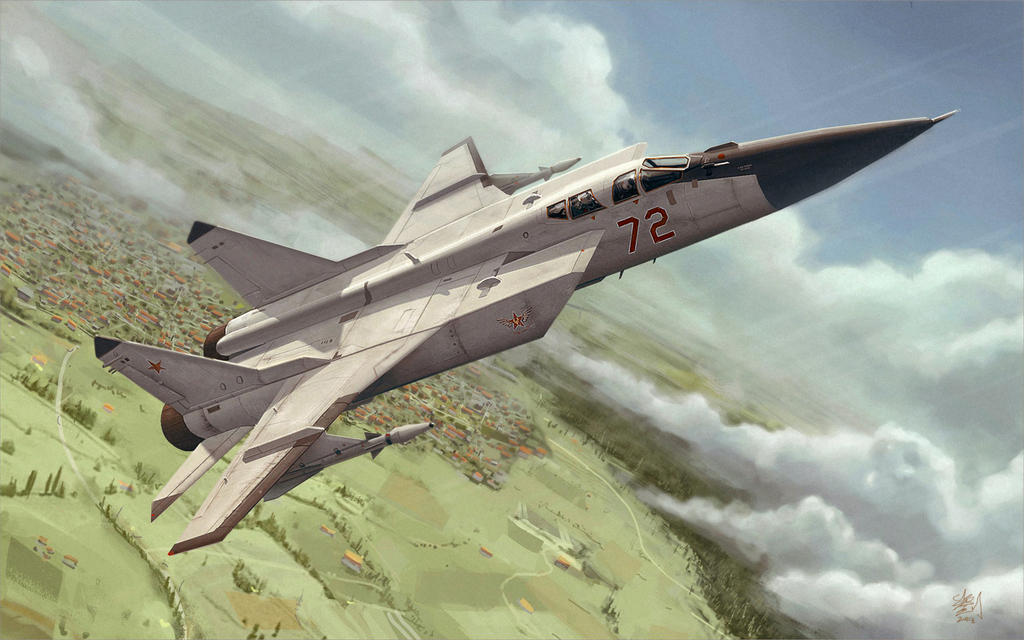 Xenonauts MiG-31 by pvtskwerl