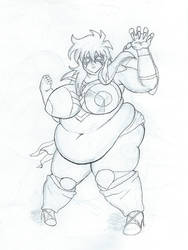 Shaina Ophiuchus the Obese by dilios999