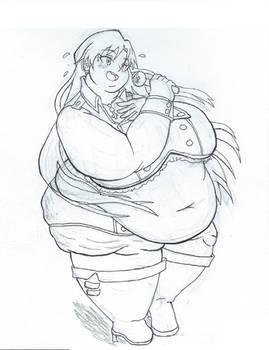 Fat Idol Chihaya