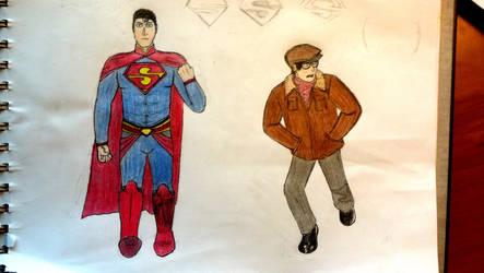 Superman: two men in suits. by kilian777