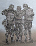 Band of Brothers Three Soldier