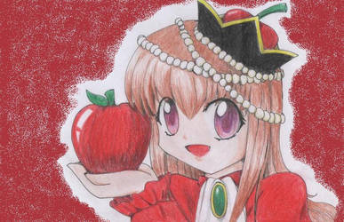 Do you want apple? by ashura--hime