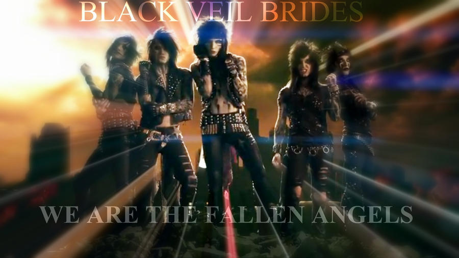 Fallen Angels by Black Veil Brides lyrics | Publish with ...