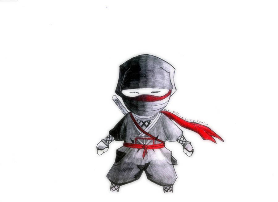 mini ninjas hiro by ShinoHaseo