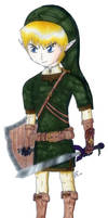 Link the hero of awesome